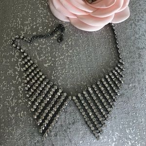 Jewelry - Gorgeous Retro Rhinestone Trendy Collar Necklace
